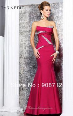 Fashion-Long-Mermaid-Strapless-Satin-Designer-Fabulous-Evening-Dress-2013-Party-Dress-with-Dazzling-Beadwork.jpg (946×1500)