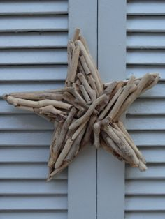 Driftwood Natural Star - Driftwood Decoration (Small)