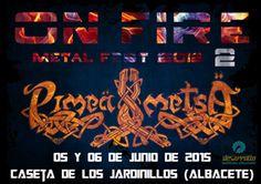 Continúan las confirmaciones para el On Fire Metal Fest 2