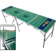 NCAA Tailgate Ping Pong Table With Net $63.26