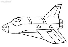 Printable Spaceship Coloring Pages For Kids | Cool2bKids | Coloring ...