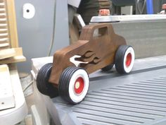 Black walnut hot rod - by snoman1973 @ LumberJocks.com ~ woodworking community