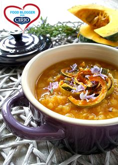 Zuppetta autunnale di zucca e lenticchie rosse @papillamonella  #foodblogger #pomodoro #ricetta #recipes #tomato #recipe #italianrecipe #zuppa #zucca #lenticchie