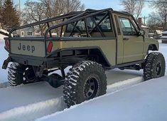 Jeep MJ Comanche w/custom bed Auto Jeep, Jeep Pickup, Jeep Truck, Pickup Trucks, Jeep Jeep, Lifted Trucks, Cool Jeeps, Cool Trucks, Big Trucks