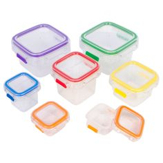 Fit Simple- 7 Piece Portion Control Containers. Store Food and Meals. 100 Percent Leak Proof. Perfect Portion Sized Containers. Recipes Included.