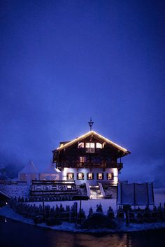 Maierl-Alm Chalets - Kirchberg, Austria,, located directly on the slopes of the Kitzbuhel Alps - the perfect wedding venue for those looking to ski off into the sunset together.