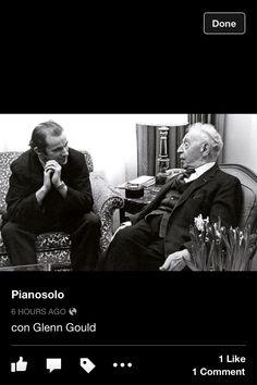 Glen Gould/Arthur Rubenstein