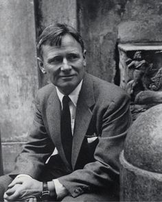 Christopher Isherwood. I cannot begin to explain how much of an impact his books have had on my life.
