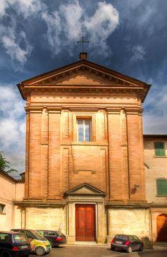 Church in Citta di Castello, Italy