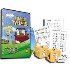 Times Tales Multiplication Practice Set- awesome fun way