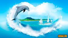 Игры про дельфинов для всей семьи!
