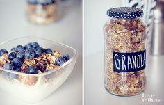 Homemade Granola   Lovenotes