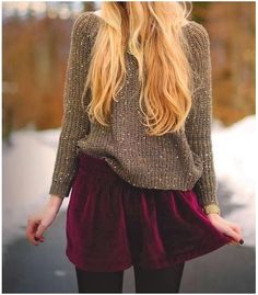 Fall and Winter Fashion || Tights, Sweaters, Skirts and so much more ||