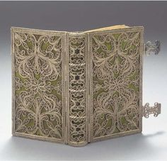 A Fine Dutch Silver Filigree Book Binding Apparently Unmarked, Probably Amsterdam, circa 1767