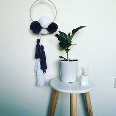Dream catcher, handmade, wall hanging, kids room decor, wall decor, nursery inspiration. See this Instagram photo by @nidie_bo • 28 likes