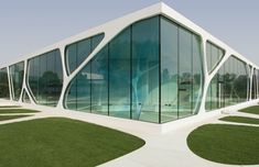 'Leonardo Glass Cube' showroom in Bad Driburg, Germany