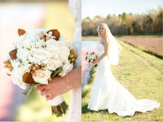 Fall wedding colours and styling