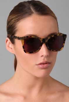 "Karen Walker ""Perfect Day"" sunnies...total endorsement from a former sales girl."