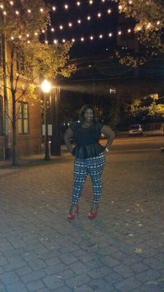 A fall night out#plus size fashion