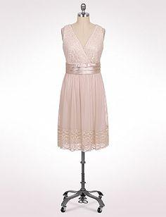 Plus Size Lace and Satin Dress   Dressbarn http://www.dressbarn.com/detail/plus-size-lace-and-satin-dress/101451944/126