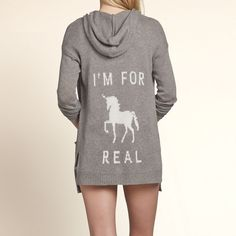 #MyCloset : Santa Monica Intarsia Unicorn Sweater. #Unicorn