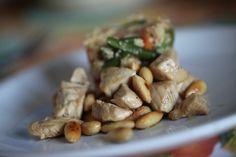 Cous Cous alle verdure con pollo alle mandorle