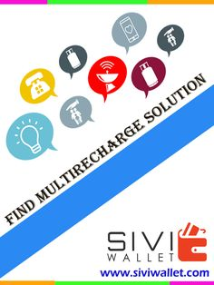 Multi Recharge , DTH , Electricity Bill payments , Share money services etc, (Upto 6% Commission) www.siviwallet.com #SIVI_WALLET #Online Mobile recharge #Billpayments