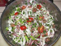 Calamari Salad Recipe | Epicurious.com