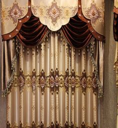 With a beautiful Sheer Embroidery Floral pattern Logo Blackout curtain displays eye-catching style. This panel curtain is finished with grommets for easy hanging. No Sew Curtains, Rod Pocket Curtains, Blackout Curtains, Window Curtains, Curtain Panels, Living Room Designs, Living Room Decor, Living Rooms, European Home Decor