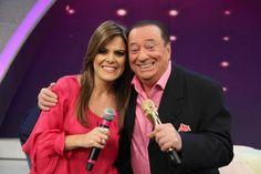 Ana Paula Valadão grava participação no Programa Raul Gil