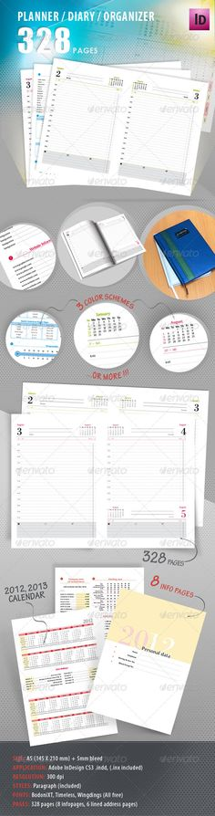 Calendar Diary Template For 2016 With Animals Calendar diary and
