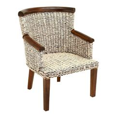 I pinned this Vineyard Arm Chair from the Northern Nautical event at Joss and Main!
