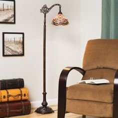 Shop for Tiffany-style Rome Reading Lamp. Get free shipping at Overstock.com…