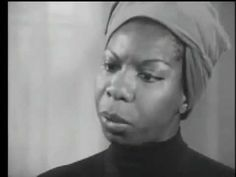 Nina Simone.  Could anything be more right - I think not!