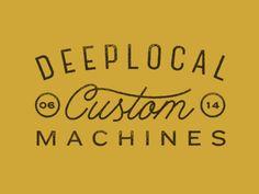 Custom Machines.