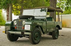 1950 series 1 Brian Hoggs - Cape Land Rover Christmas Party 2012- Warwick Wine Estate
