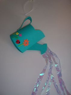 WATERING CAN Craft Kit by kazsmom on Etsy, $4.00