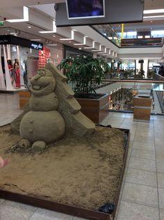 Sand Art-Olaf