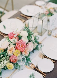 I'm a big fan of weddings that feel thoughtful designed yet entirely effortless. And when a bride, alongside her team of vendors, is able to pull off both simultaneously it's cause for celebration.Jen Huangphotographed theseOjai Valley Innnuptials complete with a
