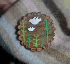 Brooch by Gabrielle Reith of 'Small Stories'