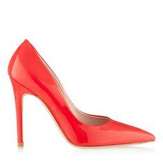 red shoes Louboutin Pumps, Christian Louboutin, Red Shoes, Stiletto Heels, Fashion, Moda, Fashion Styles, Fashion Illustrations, High Heel