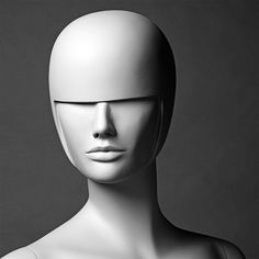 An Abstract head from the Concept Mannequin range.