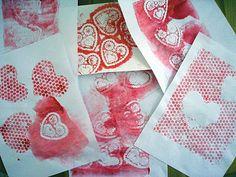 Valentine Craft Prints.