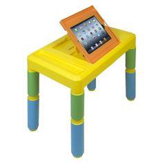 CTA Digital Kids Adjustable Activity Table for iPad - Multicolored (PAD-KAT)  $49.99