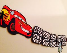 Disney Cars Birthday Banner