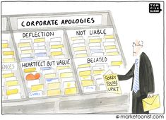 8 Types of Corporate Apologies cartoon Marca Personal, Personal Branding, Inbound Marketing, Content Marketing, Business Marketing, Taxes Humor, Medical Sales, Business Cartoons, Pinterest For Business