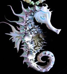 Seashell Seahorse More