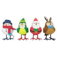 4ct Toyshop Decorative Fabric Birds - Wondershop™ : Target