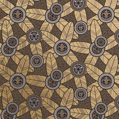 Art Deco Style Wallpaper | Electrum Oasis | Bradbury & Bradbury.  Inspired by the blacksmith master Edgar Brandt!!!