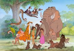 I had a poster of this Jungle Book grouping on the wall of my room when I was a kid. It sums up my childhood. Deja View: Disney Mix